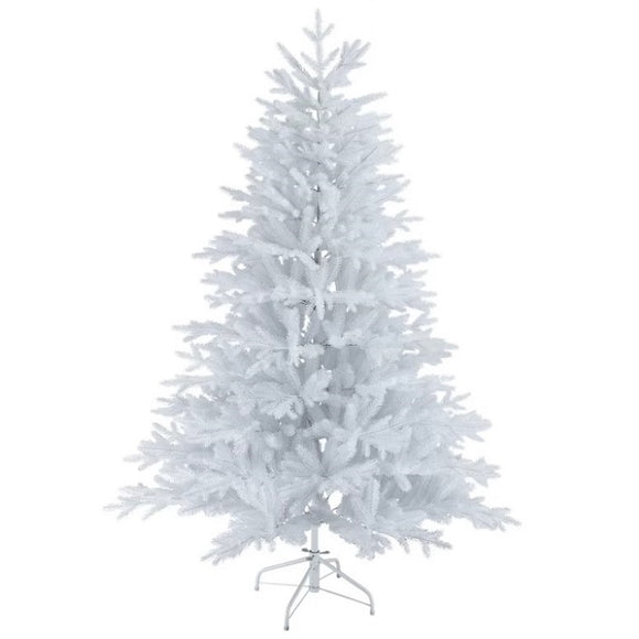 Artificial Bushy White Christmas Tree - 7FT