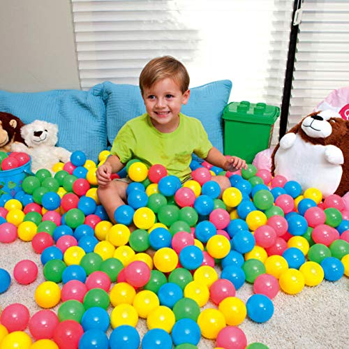 Bestway - 100 Multi Coloured Soft Play Ball Pit Set