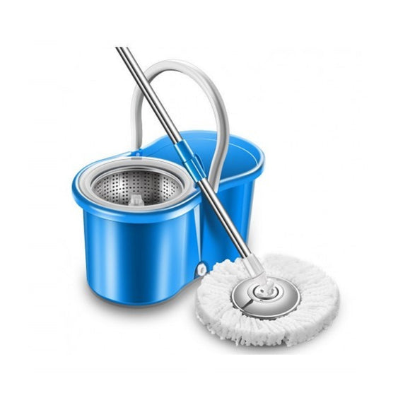 Bucket Cleaning Mop Blue