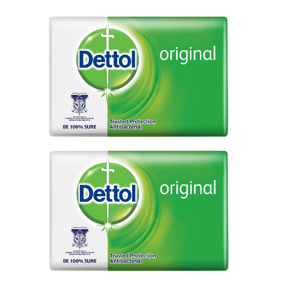 2x DETTOL Original Soap Bar (100grams)