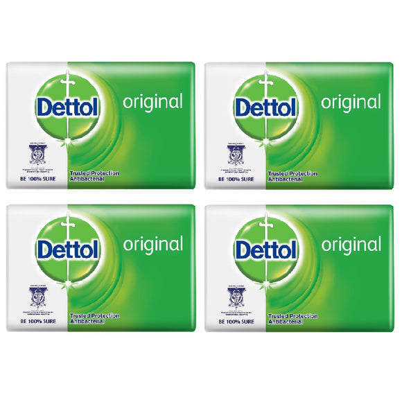 4x DETTOL Original Soap Bar (100grams)
