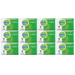 12x DETTOL Original Soap Bar (100grams)