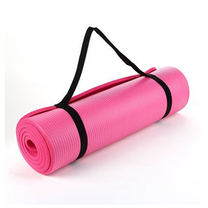 Yoga Mat - 15mm thickness (Pink)