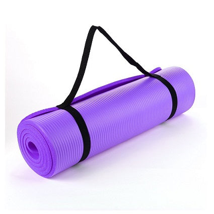 Yoga Mat - 15mm thickness (Purple)