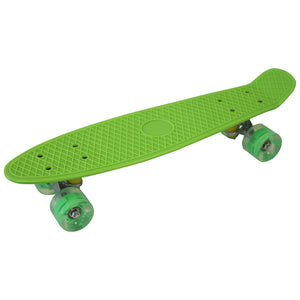 "Skateboard Cruiser 22"" LED Wheels (Green)"