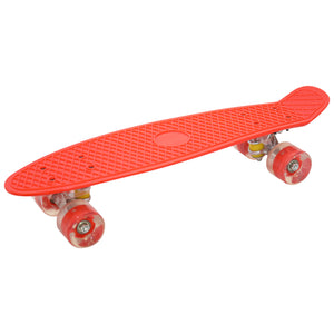 "Skateboard Cruiser 22"" LED Wheels (Orange)"