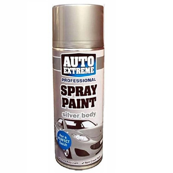 Auto Extreme Silver Body Spray Paint - 400ml