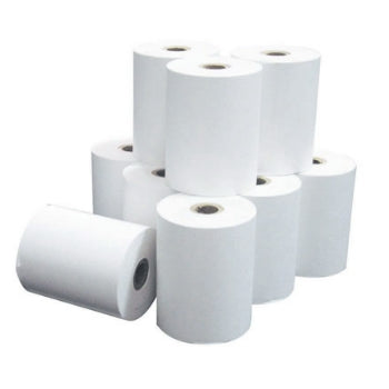 10 Pack Card Machine Thermal Till Rolls (57mm x 40mm)
