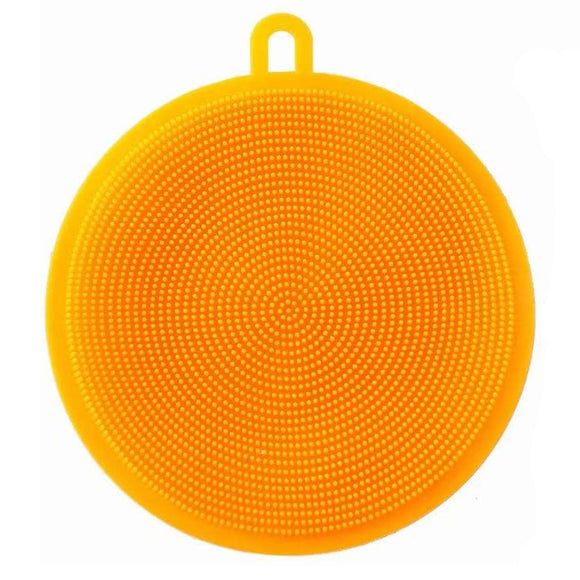 Multi Purpose Silicone Sponge - Orange