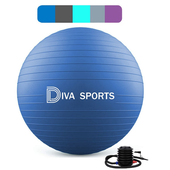 Yoga Ball (Indigo Blue)