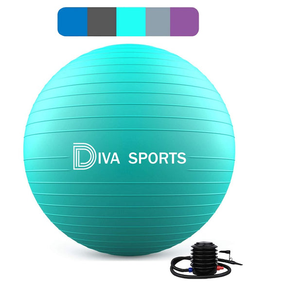Yoga Ball (Turkis)