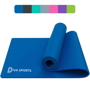 Yoga Mat - 15mm thickness (Blue)