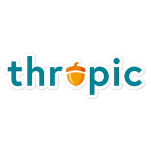 Thropic stickers