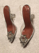 Load image into Gallery viewer, Cinderella glass heels