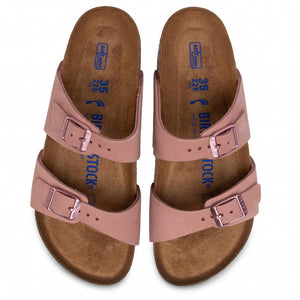 בירקנשטוק -  כפכפי נשים סידני אולד רוז Birkenstock Sydney Old Rose (4538189185098)