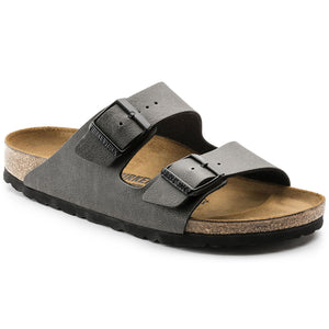 בירקנשטוק כפכפי נשים אריזונה אנטרסייט Birkenstock Arizona BS Pull Up Anthracite (4520721416266)