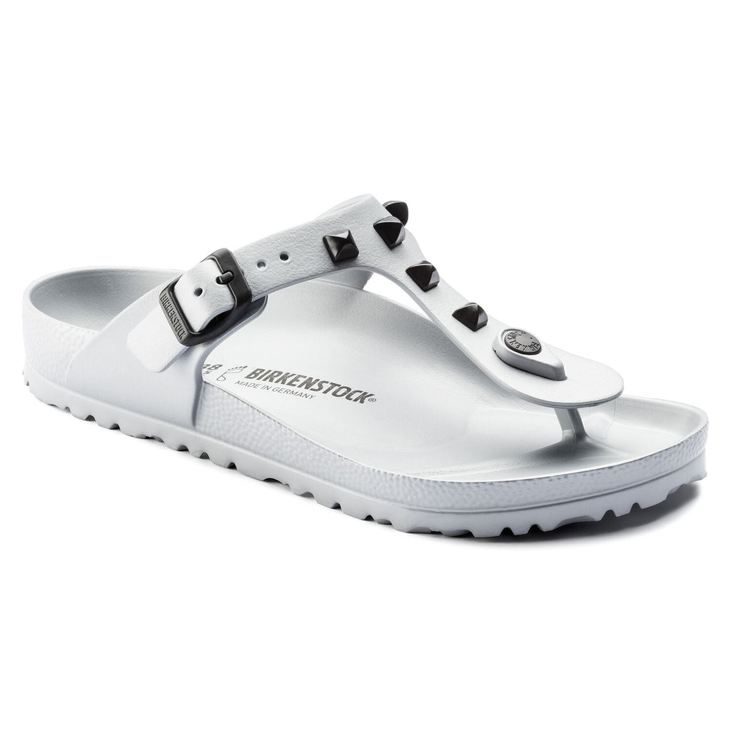 בירקנשטוק כפכפי נשים גיזה EVA סילבר ניטים Birkenstock Gizeh EVA Studded Silver (regular fit) (4537651560522)