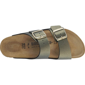 בירקנשטוק כפכפי נשים אריזונה סטון גולד Birkenstock Arizona Icy Metallic Stone Gold (4537513443402)