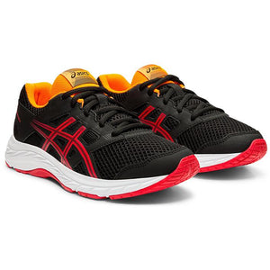נעלי ילדים אסיקס Asics Contend 5 GS Kids Black-Red - Original's (4418089386058)