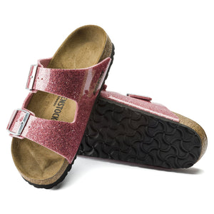 בירקנשטוק כפכפי נשים אריזונה רוז ספרקל Birkenstock Arizona Cosmic Sparkle Old Rose (narrow fit) (4537528418378)