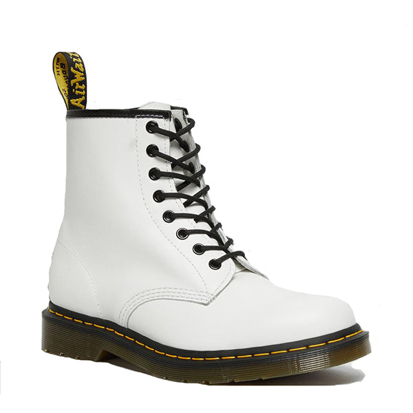 נעלי ד״ר מרטינס Dr. Martens Eye Boot White Smooth 1460