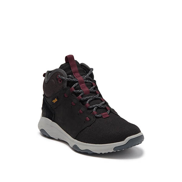 TEVA נעלי נשים - Arrowood Vent Mid WP Black Women (4815812526154)