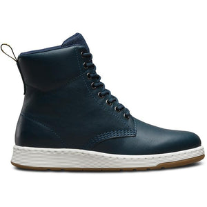 נעלי ד״ר מרטינס נשים Dr Martens Rigal Lake Blue Navy 8 Eye Boot (4425126674506)