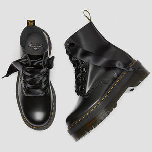 נעלי ד״ר מרטינס Dr. Martens Molly 6 Eye Boot Black Buttero