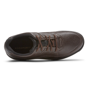 רוקפורט נעלי גברים   Rockport K70884W World Tour Classic Brown (4537513738314)