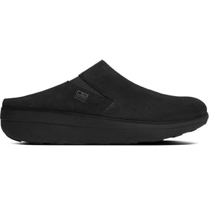 פיט פלוט לוף קלוגס שחור Fit-Flop Loaff Suede Clogs (4395494178890)
