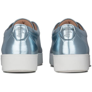 פיט פלוט ראלי מטאלי כחול מטאלי Fit-Flop Rally Metallic Sneakers - Original's (4395495424074)
