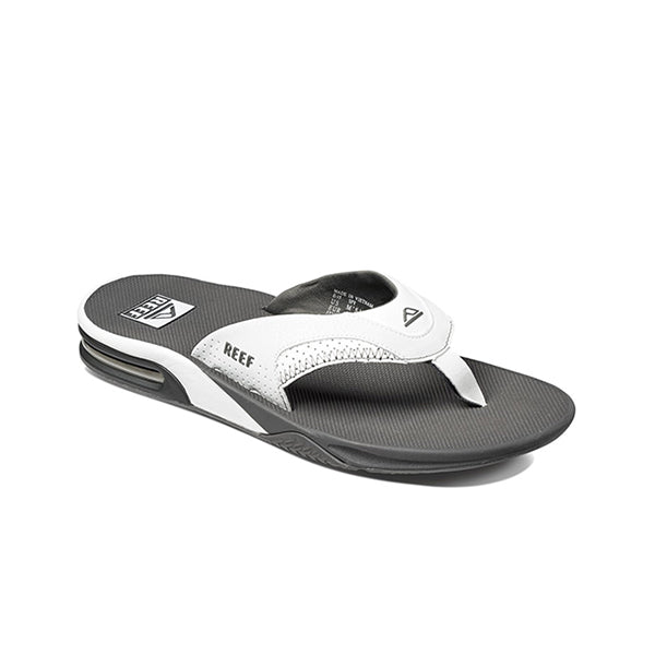 כפכפי גברים ריף REEF FANNING GREY WHITE (4587898863690)