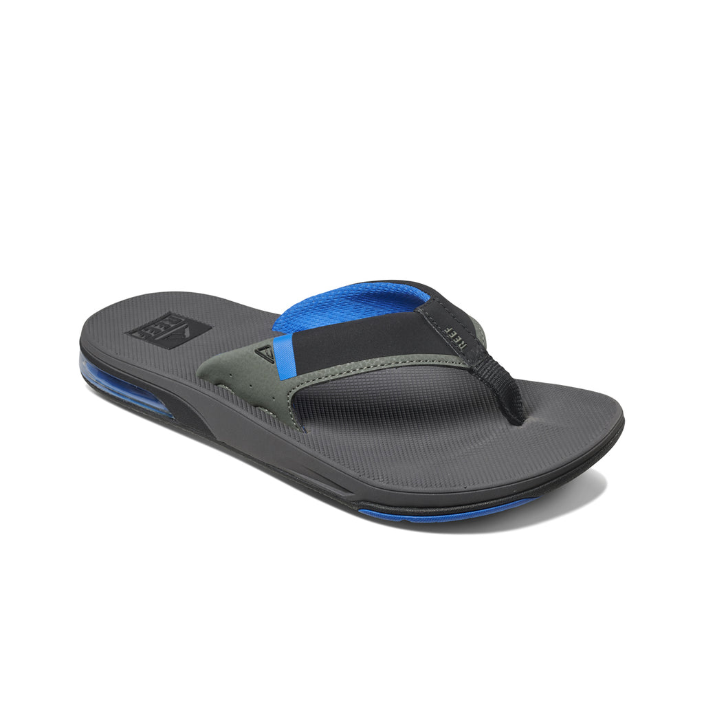 כפכפי גברים ריף REEF FANNING LOW GREY BLUE (4587909578826)
