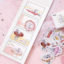 Load image into Gallery viewer, Springtime Bunny Stickers - Box of 45 - Journaling, Planner Stickers, Bujo Stickers, Scrapbooking