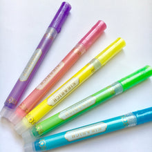 Load image into Gallery viewer, Glitter Highlighter Pens - Kirarich - The Crafts Vine