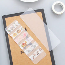 Load image into Gallery viewer, Washi Tape Sampler - Washi Tape Holder, Washi Tape Sample Holder, Washi Dispenser, Washi Holder, Tape Holder