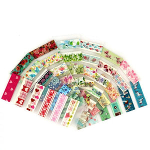 Washi Tape Sampler - 6 Washi Samples Included! - Washi Tape Holder, Washi Tape Sample Holder, Washi Dispenser, Tape Holder