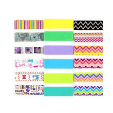 Load image into Gallery viewer, Washi Tape Sampler - 6 Washi Samples Included! - Washi Tape Holder, Washi Tape Sample Holder, Washi Dispenser, Tape Holder
