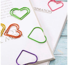 Load image into Gallery viewer, Heart Shaped Paperclips - Pack of 5 - The Crafts Vine