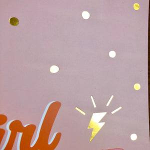 Girl Power A5 Notebook - The Crafts Vine