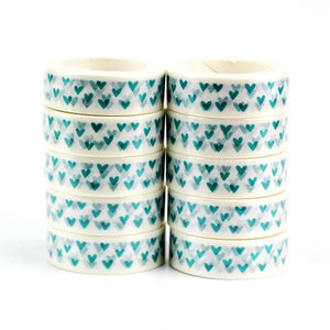 *PRE ORDER* Blue Heart Washi Tape - The Crafts Vine