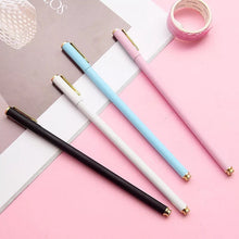 Load image into Gallery viewer, Sleek Metallic Gel Roller Ball Pens - Metal Ballpoint Pens, Soft Touch Pens, Planner Pens, Bujo Supplies