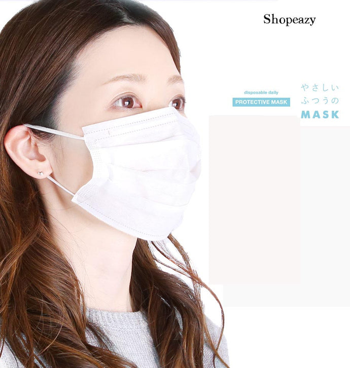 Protective Masks Disposable 3-layer Mask for Daily Use 50pc/Box