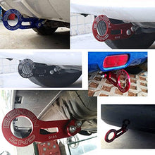 Load image into Gallery viewer, Aluminum Red Racing Rear Towing Hook -Universal Car Auto Trailer Ring Towing Bars Tool