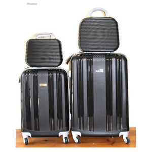LUXURY ABS 4 PIECE LUGGAGE SET