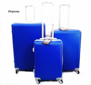 Luxury ABS Lightweight Design 3-Piece Luggage Set