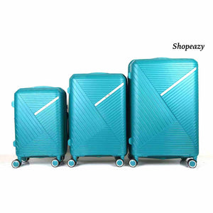 Luxury PP Lightweight Design 3-Piece Luggage Set