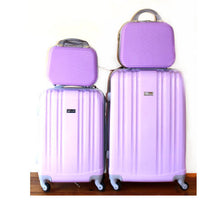 Load image into Gallery viewer, LUXURY ABS 4 PIECE LUGGAGE SET