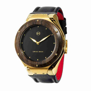 Swiss made luxury quartz watch NOVE Craftsman Gold