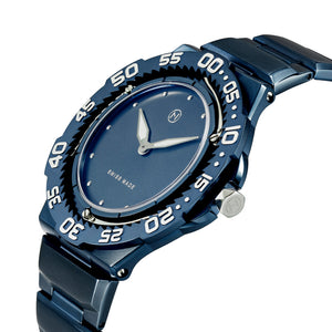 The world's slimmest diver watch NOVE Trident E009-02 Blue